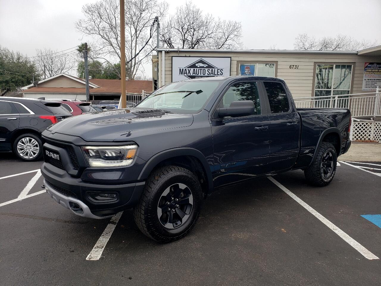 "RAM 1500 Rebel 4x4 Quad Cab 6'4"" Box 2019"