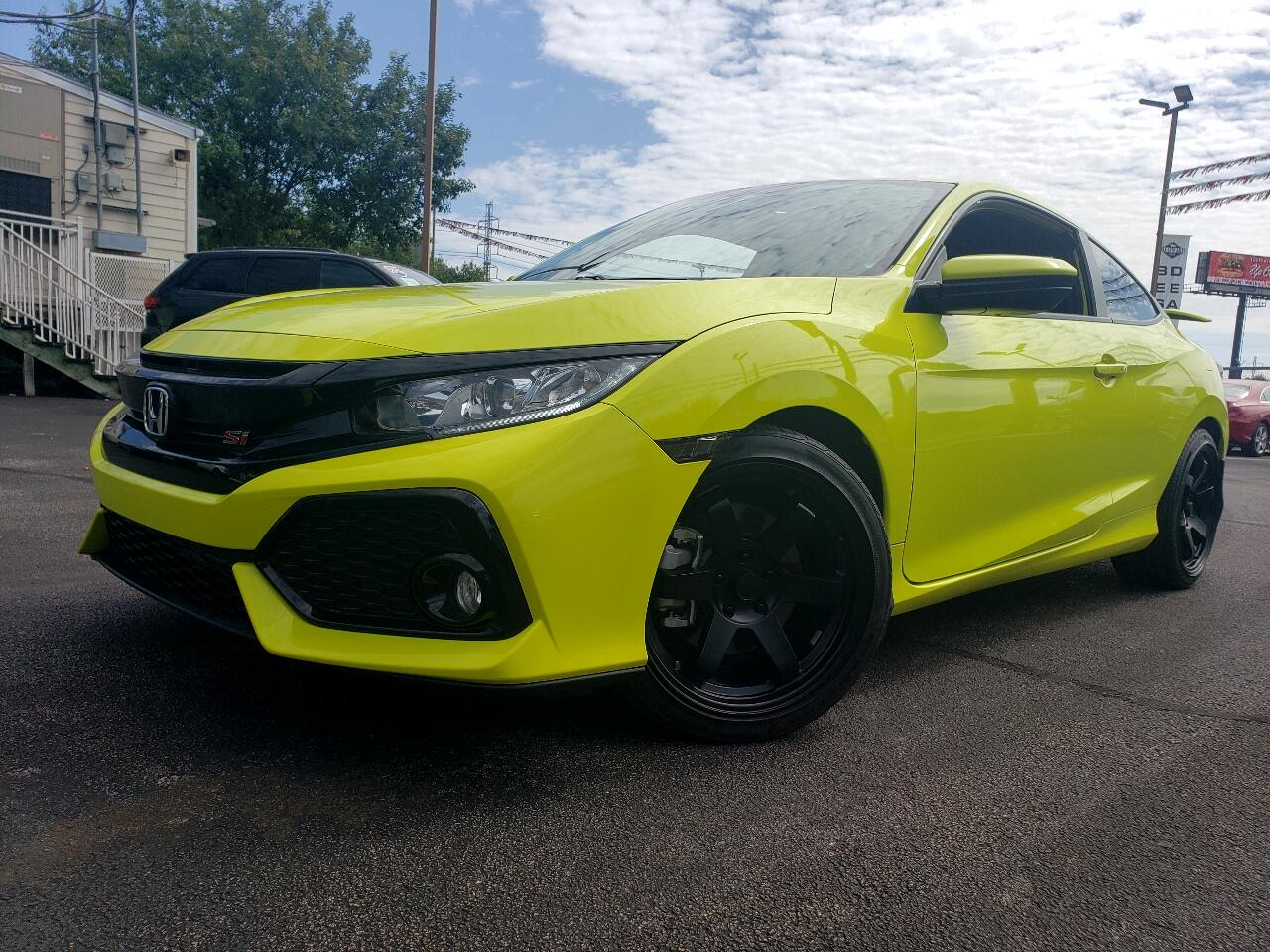 Honda Civic Si Coupe Manual w/Summer Tires *Ltd Avail* 2019