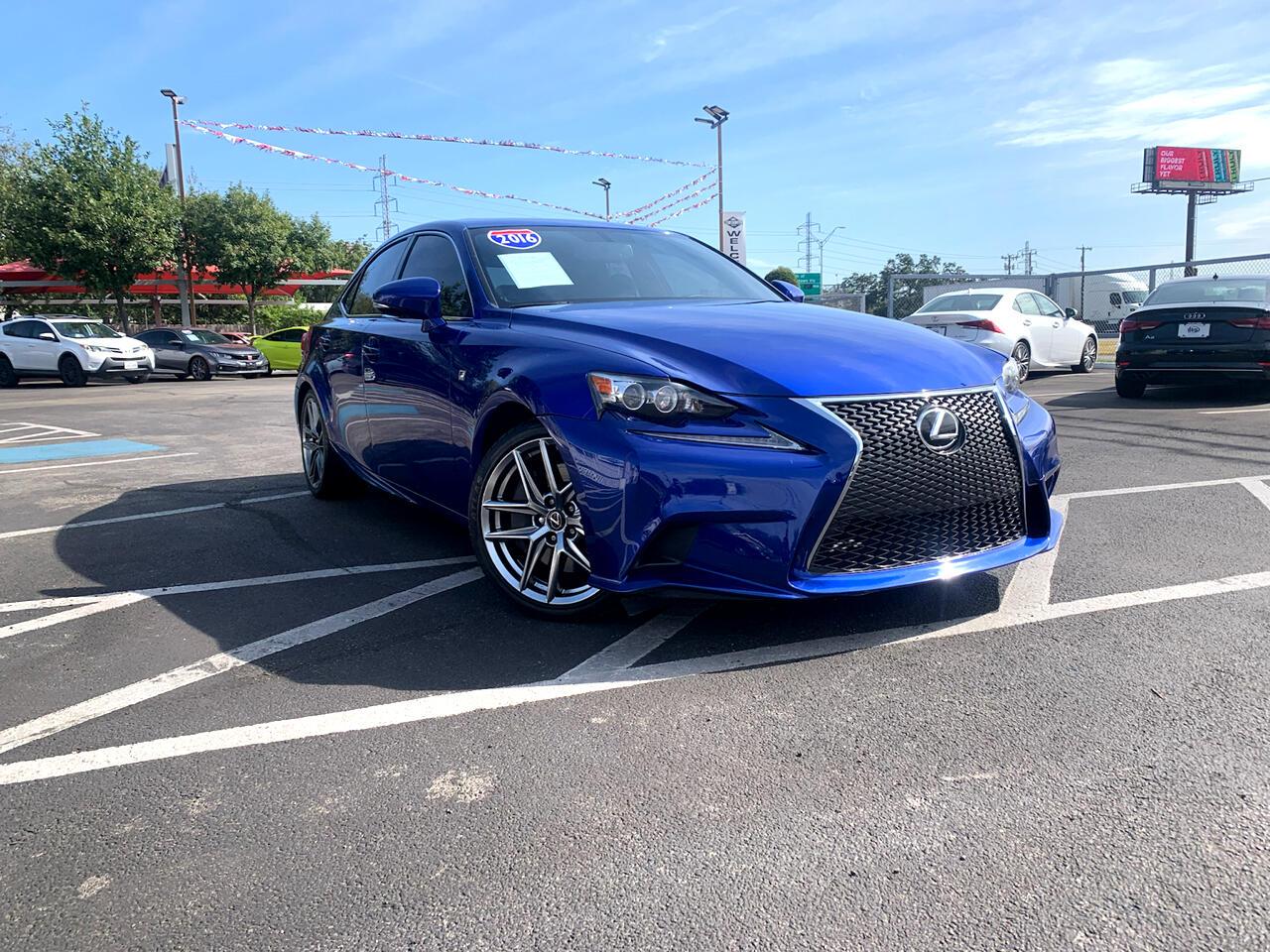 Lexus IS 200t 4dr Sdn 2016