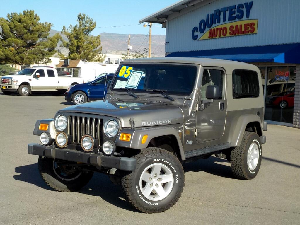 2005 Jeep Wrangler Unlimited Rubicon 4WD