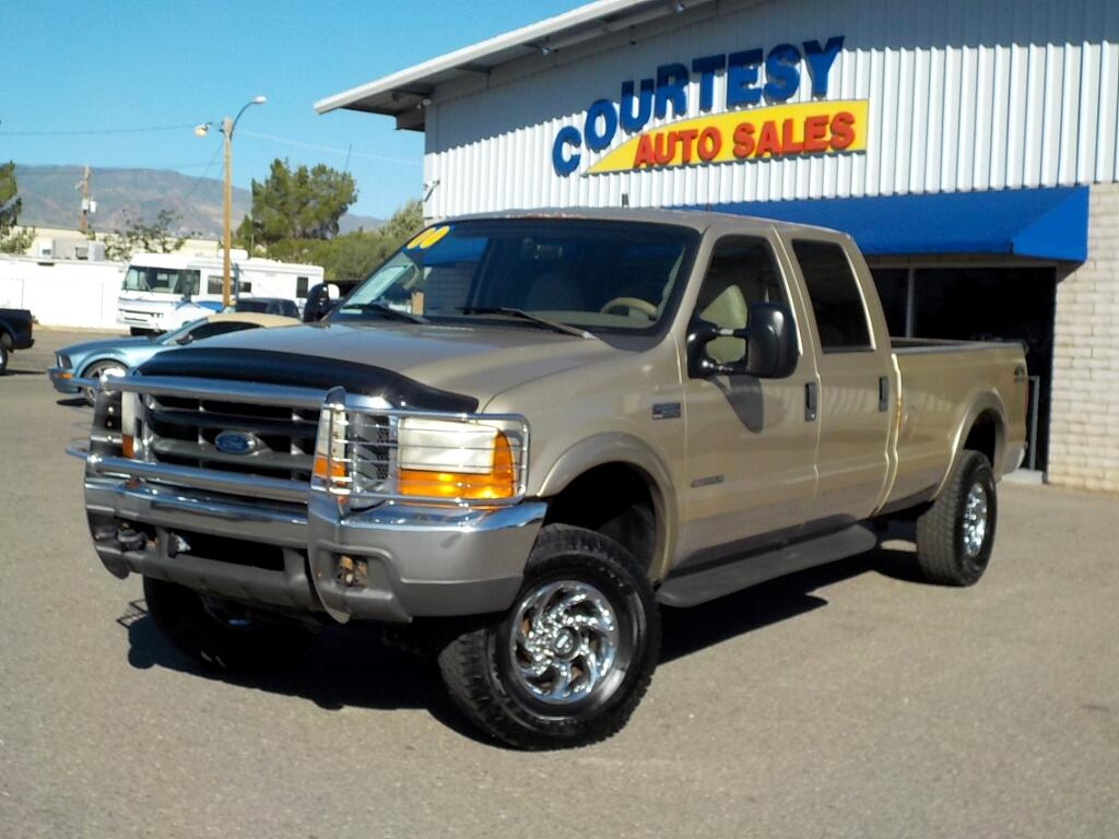 2000 Ford Super Duty F-350 SRW Crew Cab 156