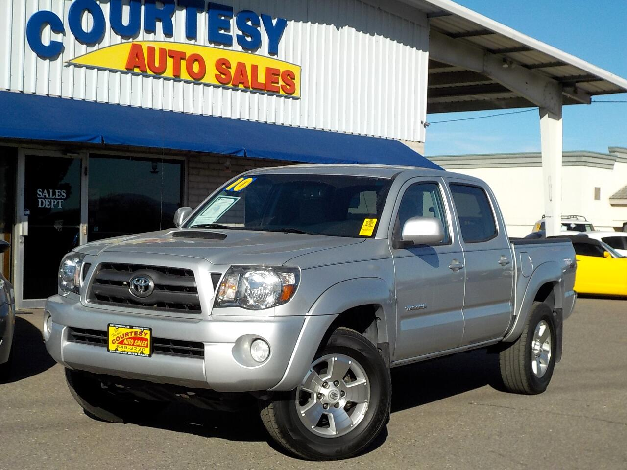 2010 Toyota Tacoma 2WD Double Cab V6 AT TRD Sport (Natl)