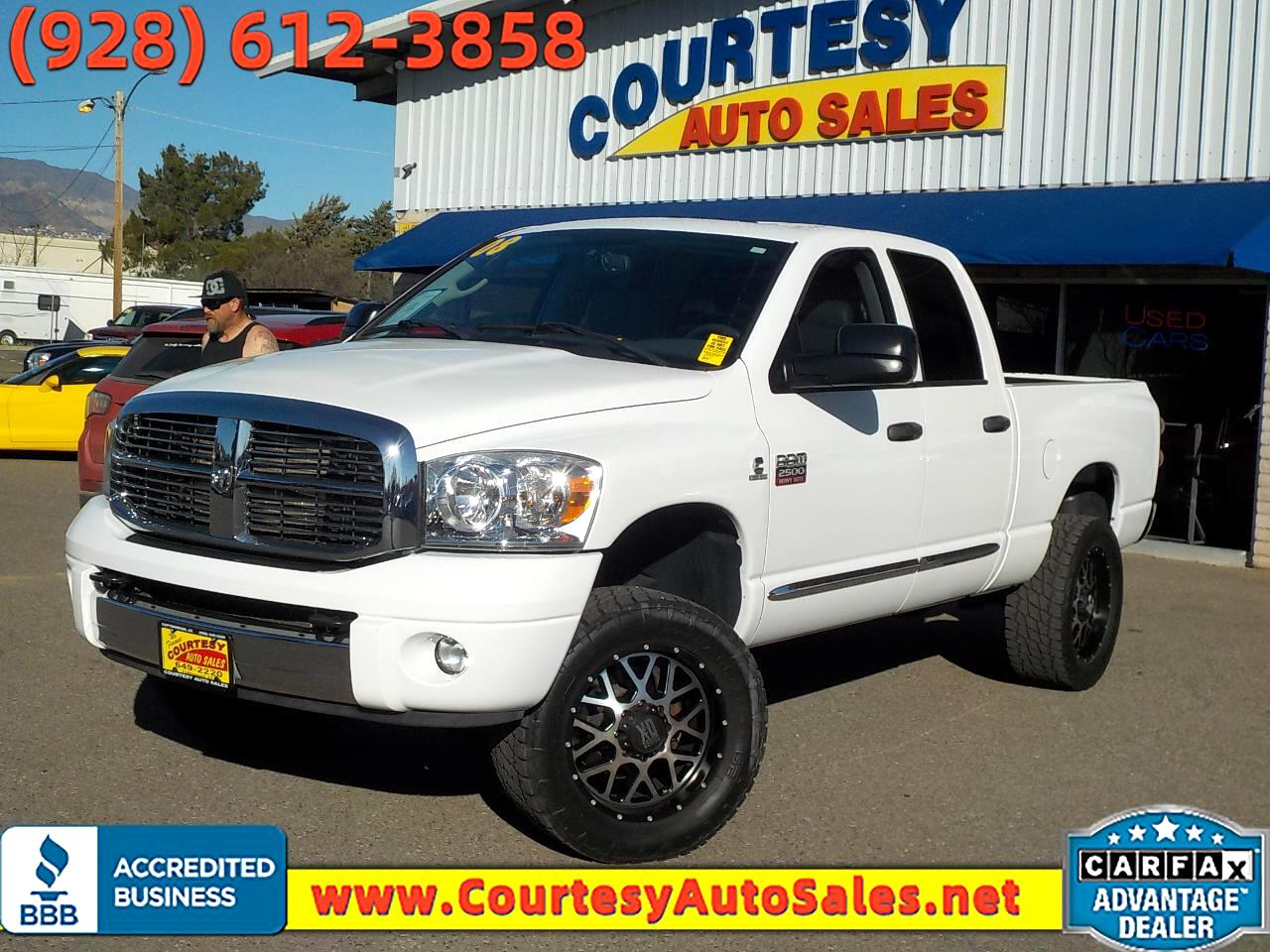 "Dodge Ram 2500 4WD Crew Cab 149"" Laramie *Ltd Avail* 2008"