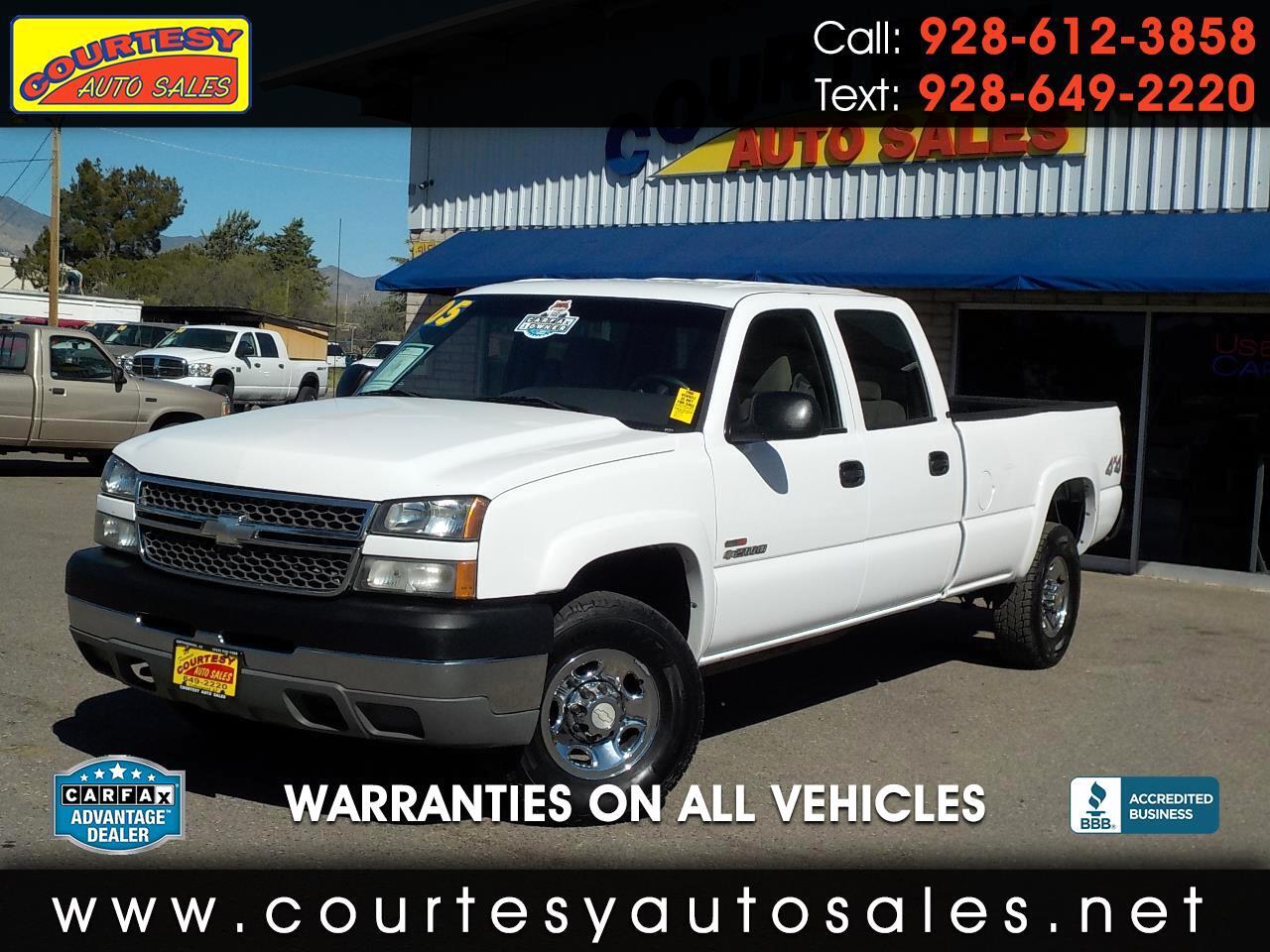2005 Chevrolet Silverado 2500HD Crew Cab 167