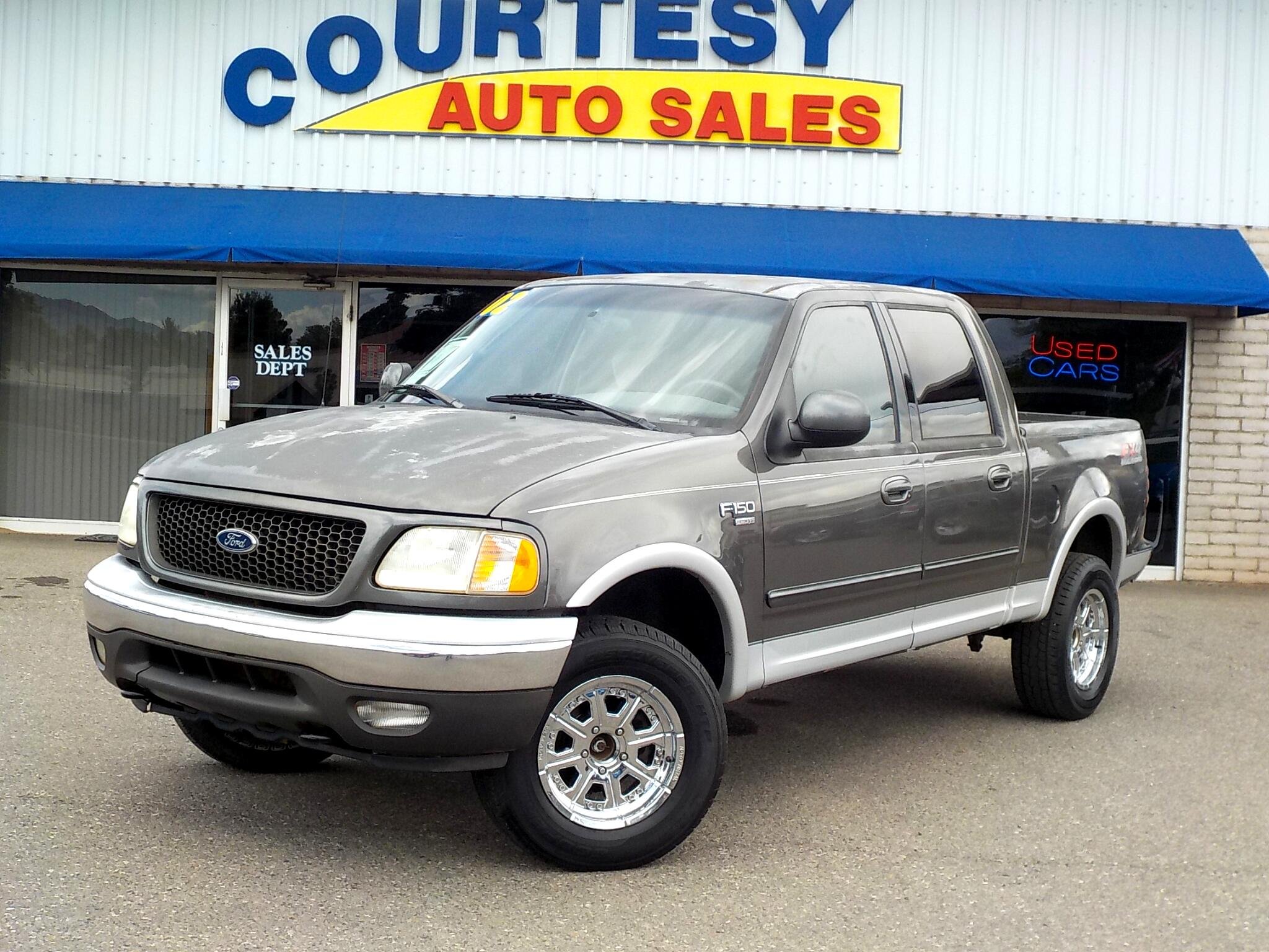 2002 Ford F-150 4WD SuperCrew 139