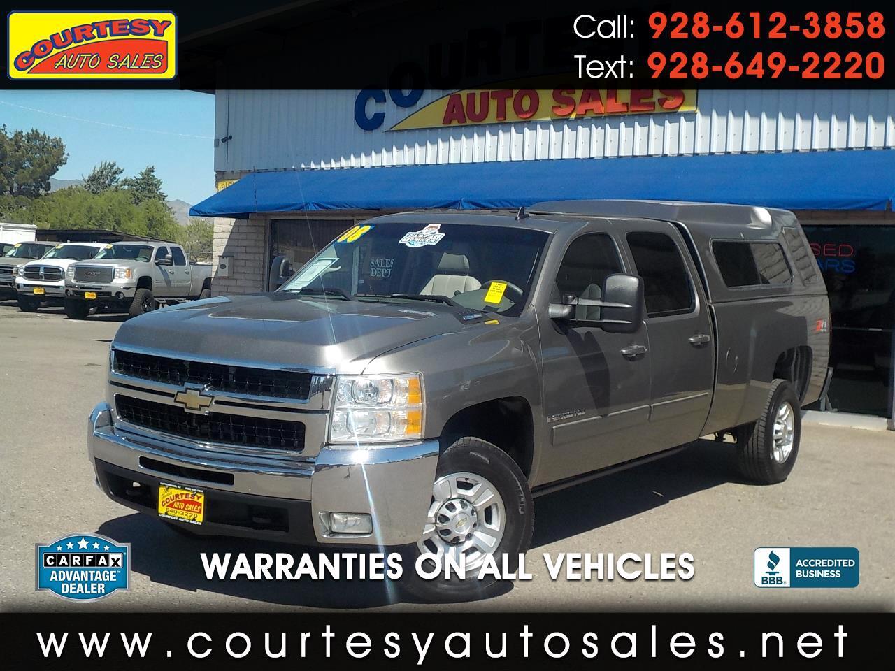 2008 Chevrolet Silverado 2500HD 4WD Crew Cab 167