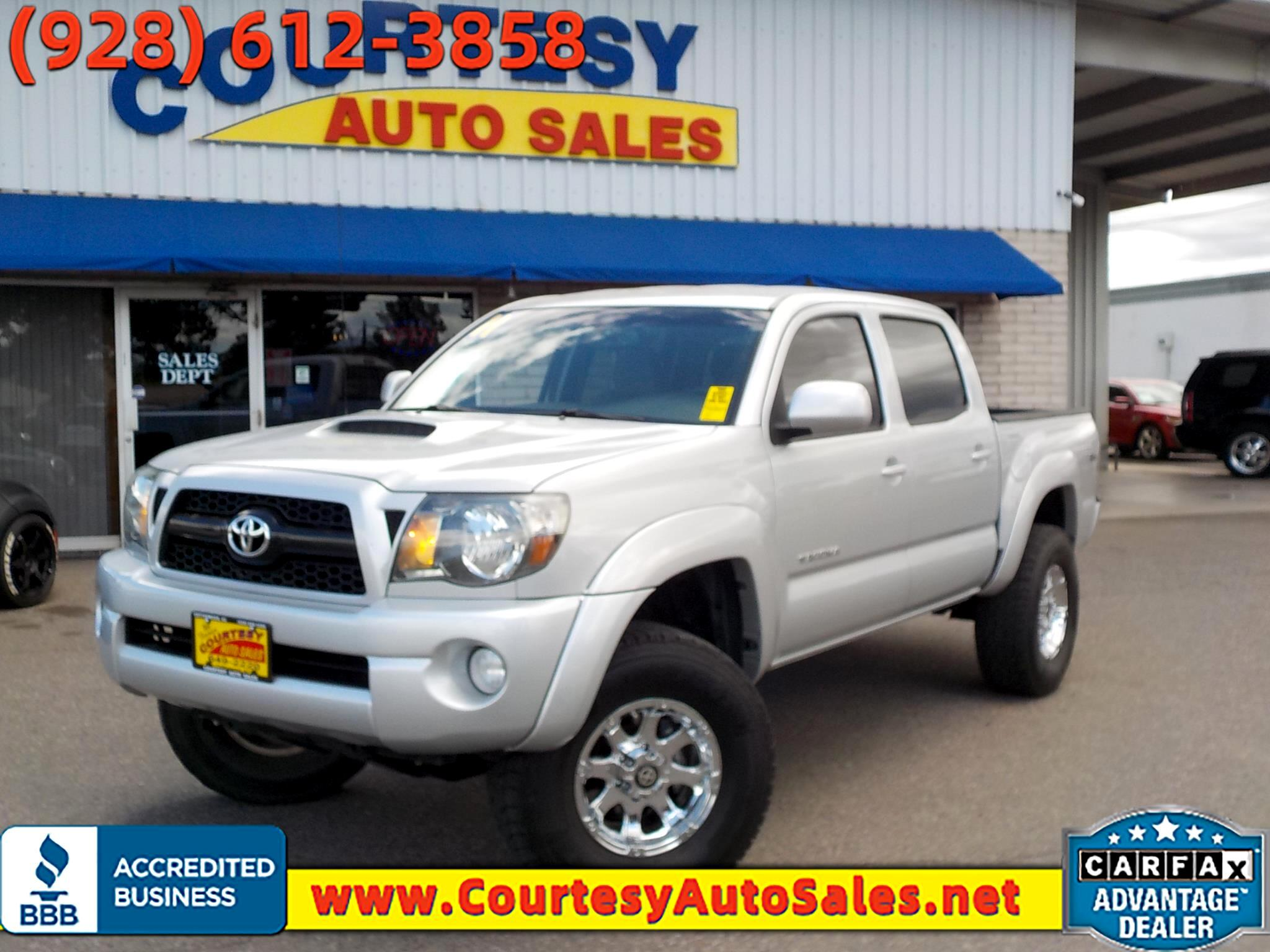 Toyota Tacoma 4WD Double Cab V6 AT TRD Sport (Natl) 2011