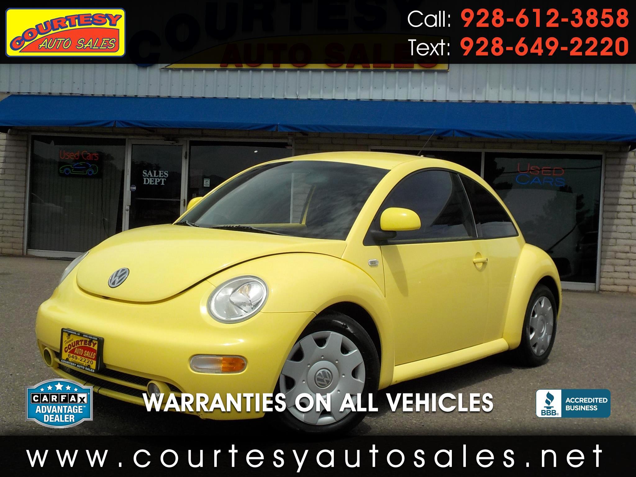 1999 Volkswagen New Beetle 2dr Cpe GLS Auto