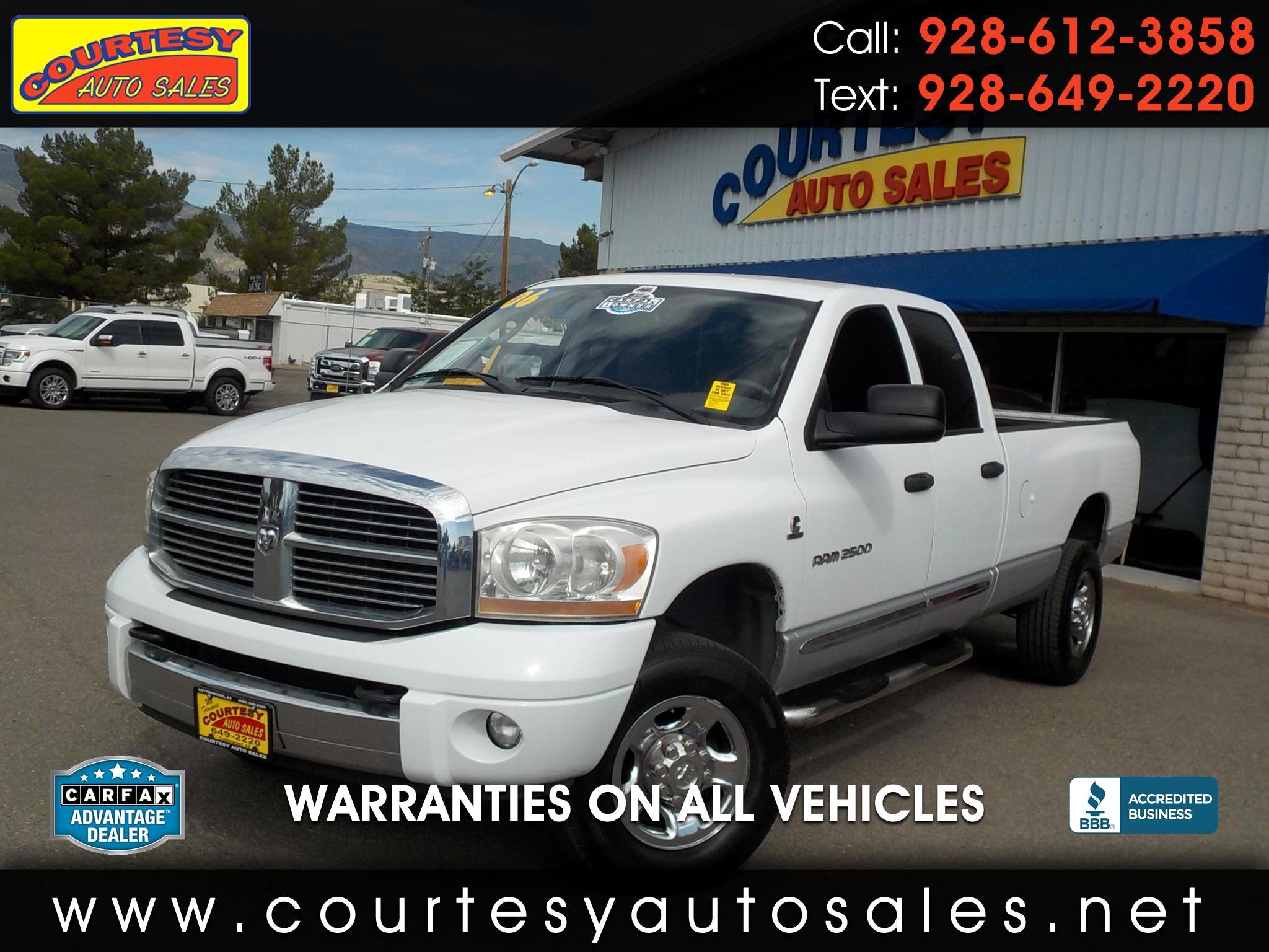 2006 Dodge Ram 2500 4dr Quad Cab 160.5 4WD Laramie