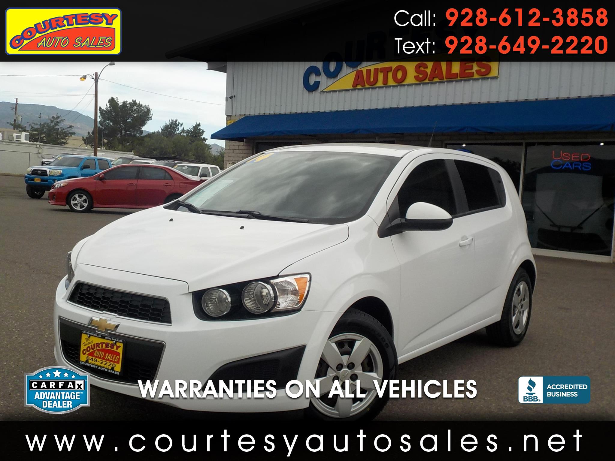 2014 Chevrolet Sonic 5dr HB Manual LS