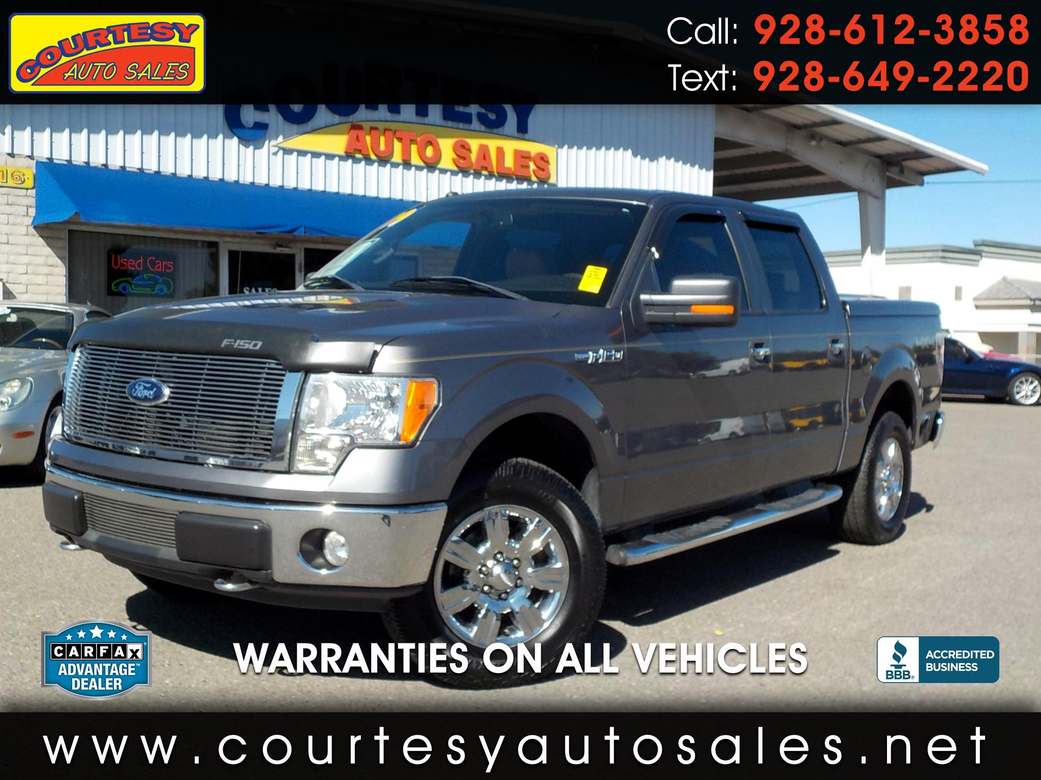 "Ford F-150 4WD SuperCrew 145"" XLT 2009"