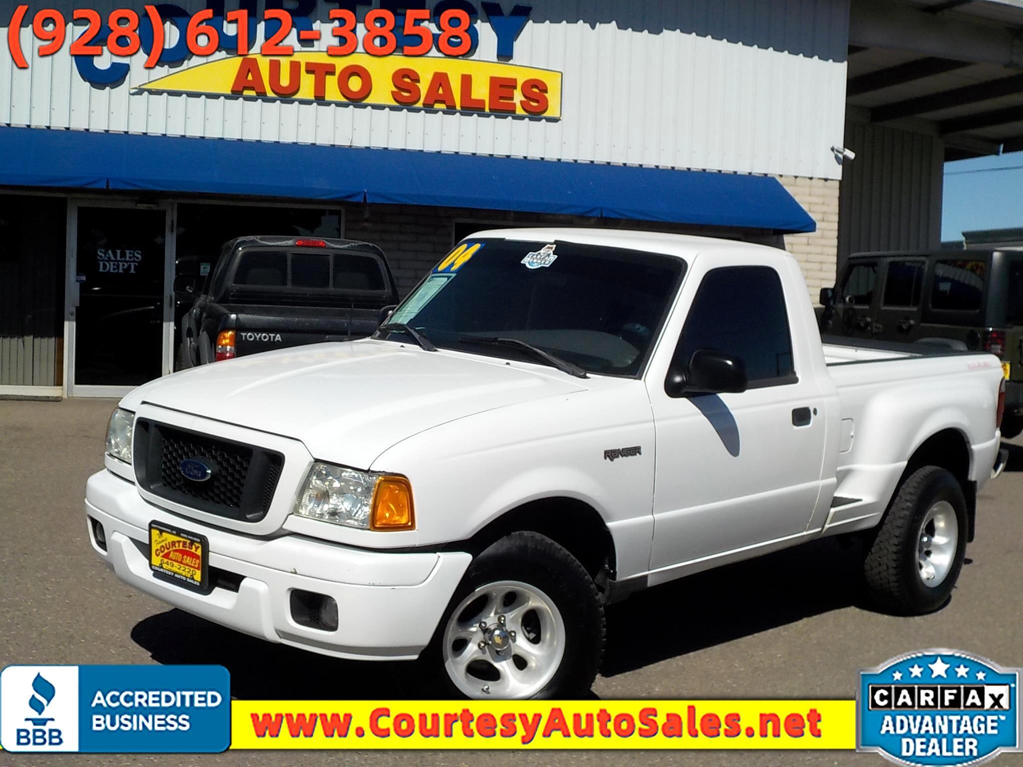 Ford Ranger Reg Cab 3.0L Edge 2004