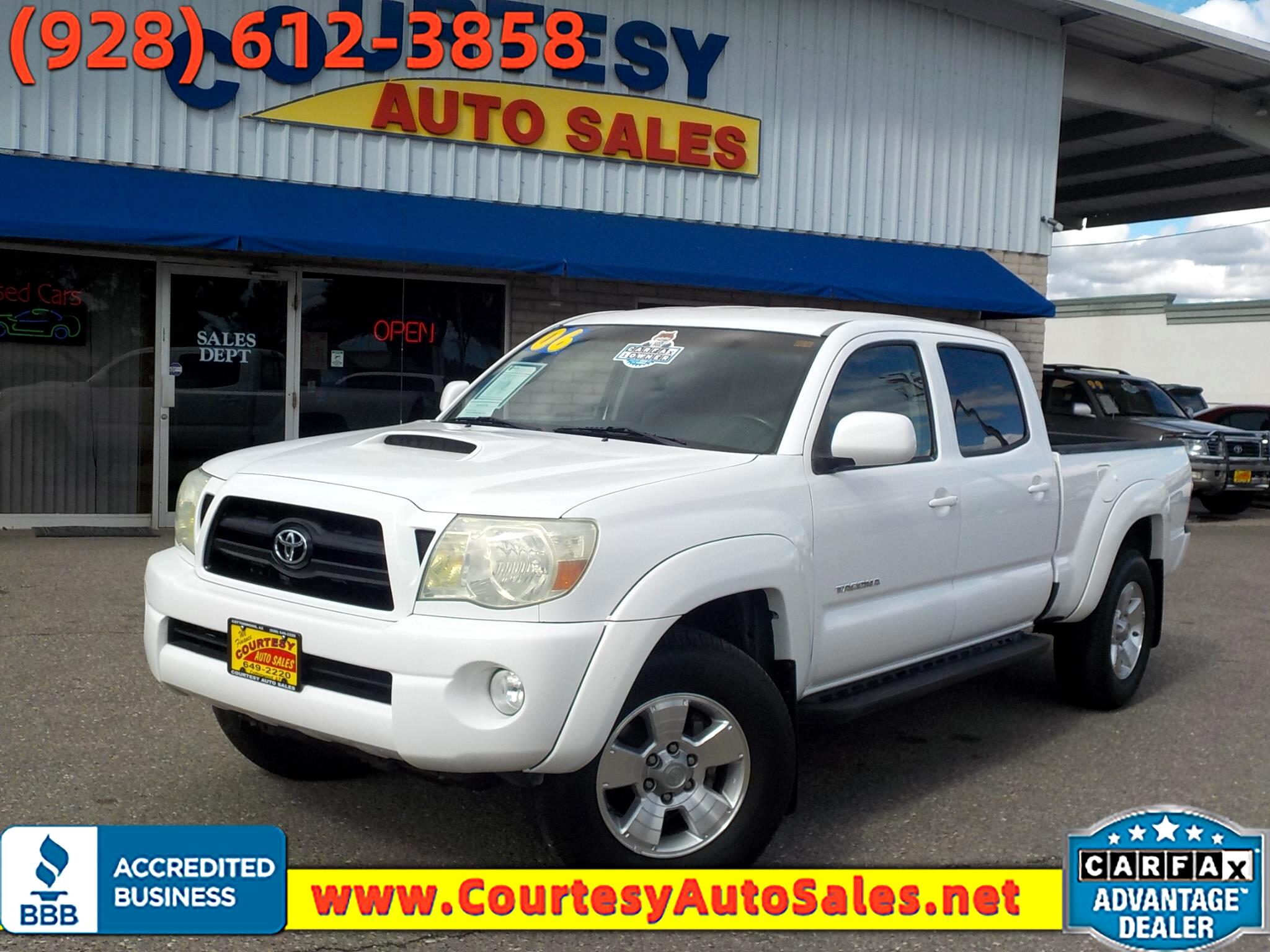 Toyota Tacoma 4WD Double Cab LB V6 AT SR5 (Natl) 2006