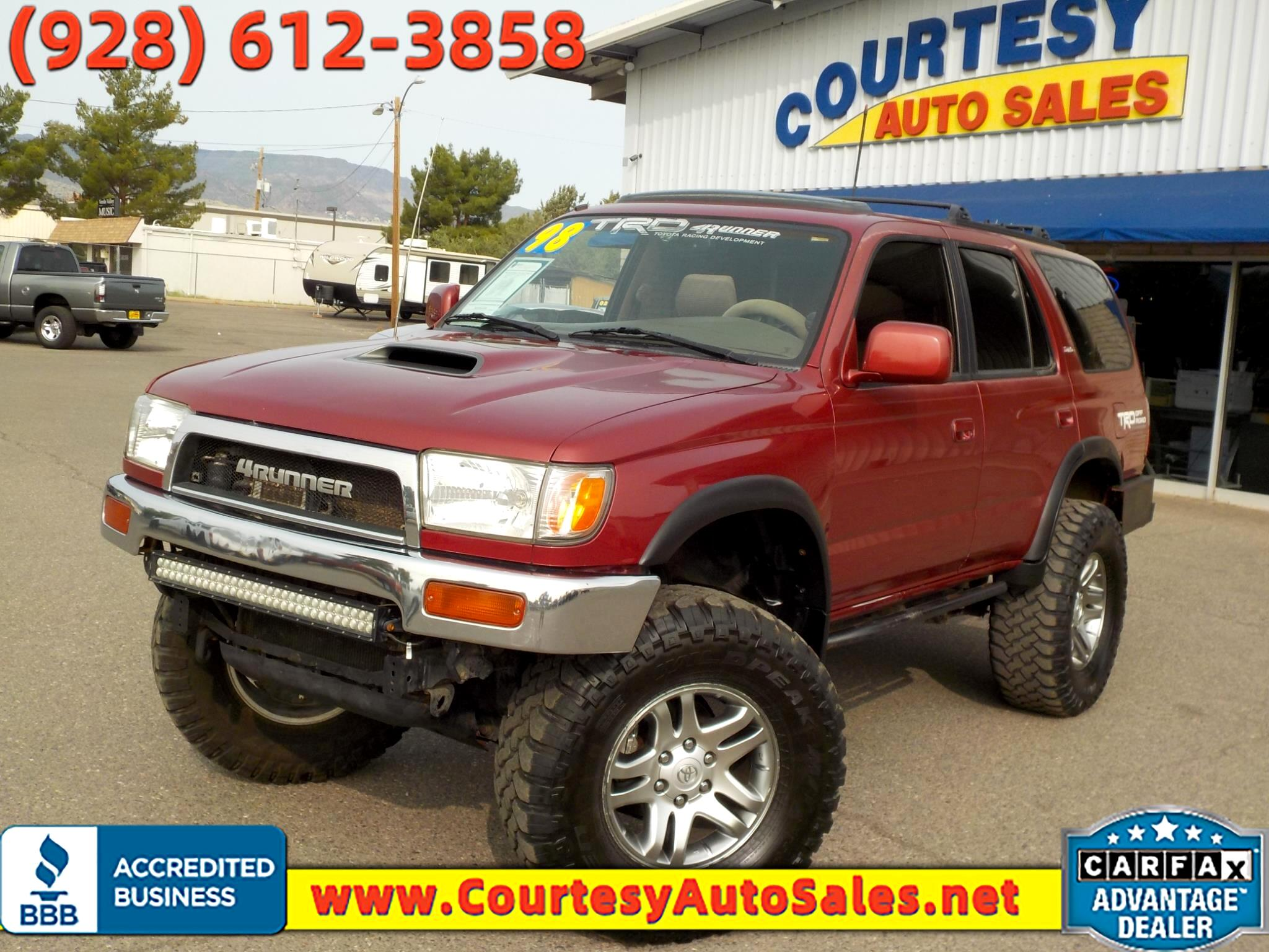Toyota 4Runner 4dr SR5 3.4L Auto 4WD 1998