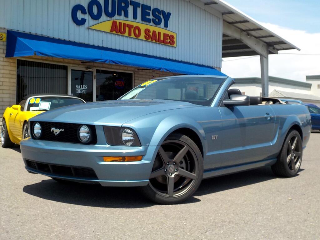 2007 Ford Mustang GT Premium Convertible
