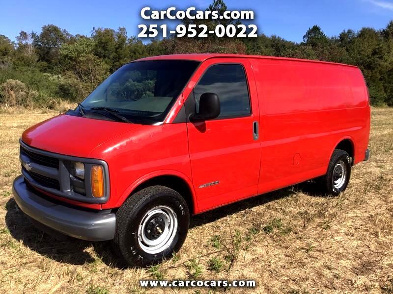 Chevrolet Express 3500 Cargo 2001