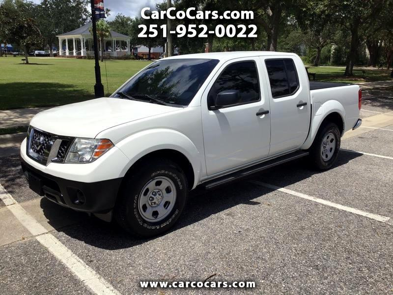 Nissan Frontier S Crew Cab 5AT 2WD 2015