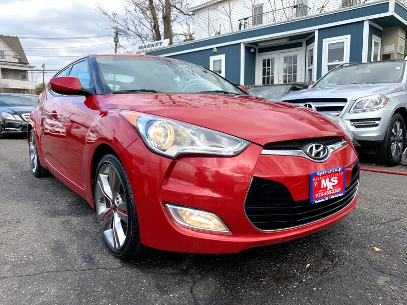 2012 Hyundai Veloster 3DR CPE AUTO W/RED INT SUPER LIMITED