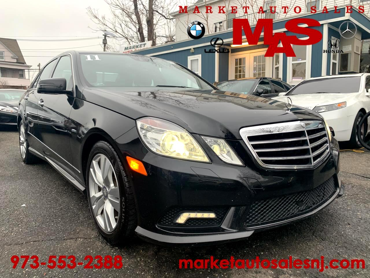 2011 Mercedes-Benz E-Class E350 BlueTEC Sedan