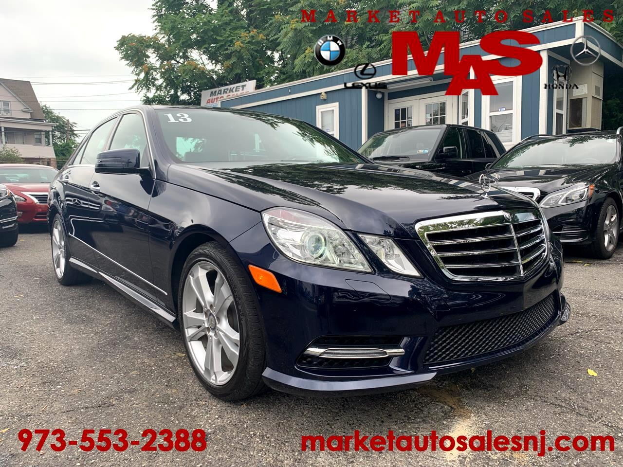 2013 Mercedes-Benz E-Class E350 4MATIC Sedan