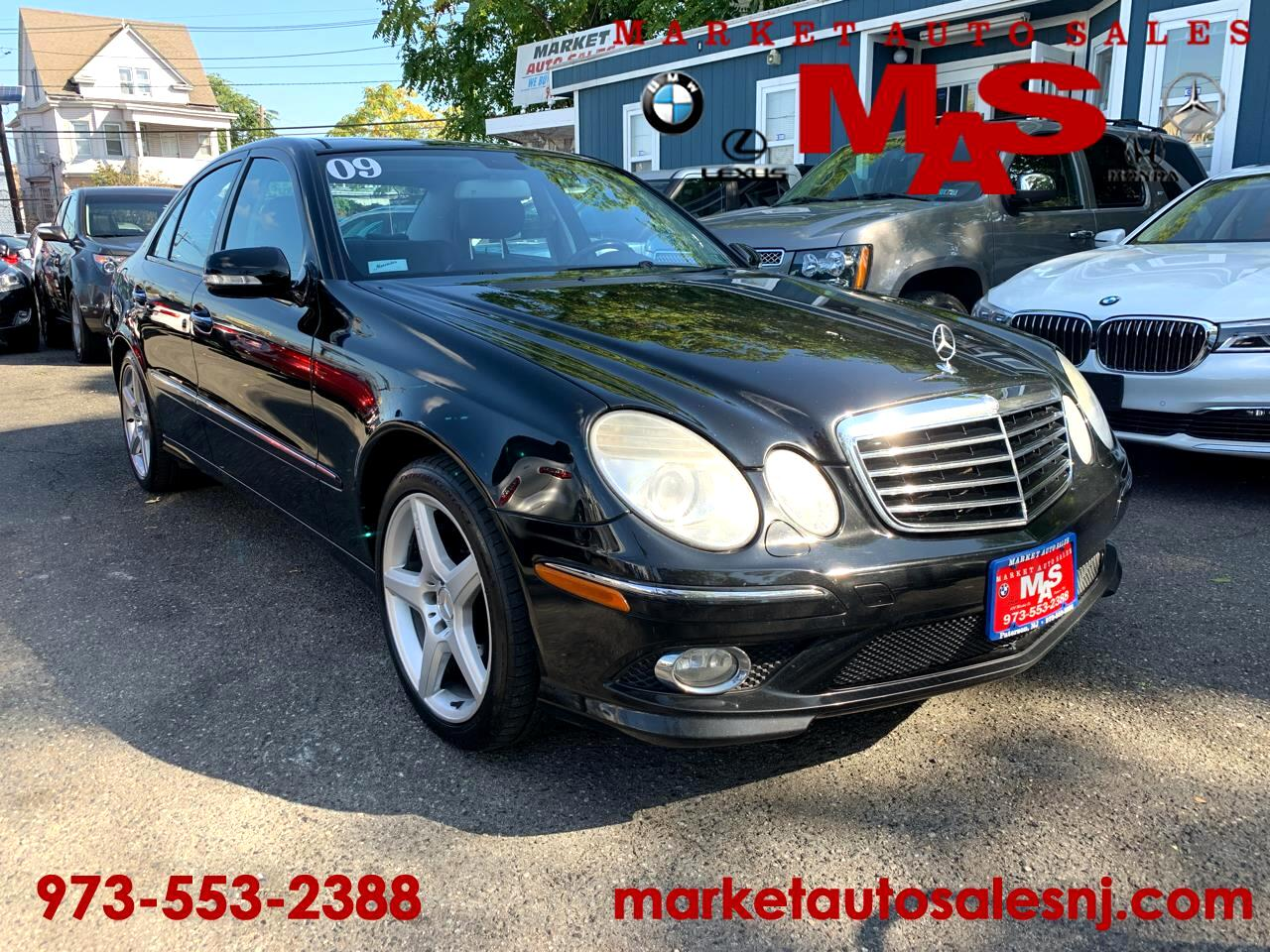 2009 Mercedes-Benz E-Class E350 4MATIC Sedan