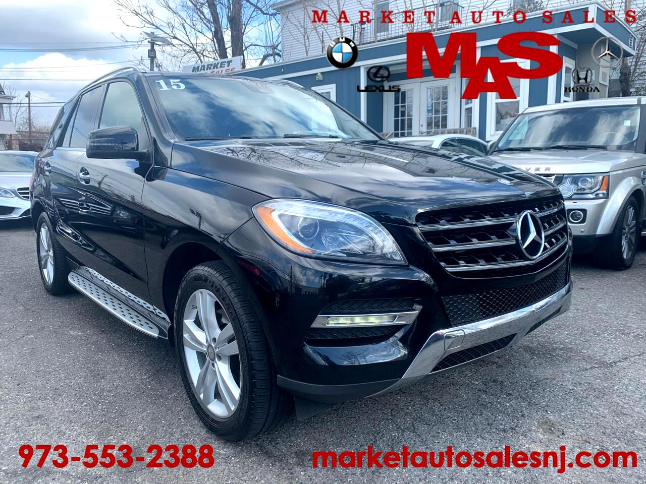Mercedes-Benz M-Class ML250 BlueTEC 4MATIC 2015