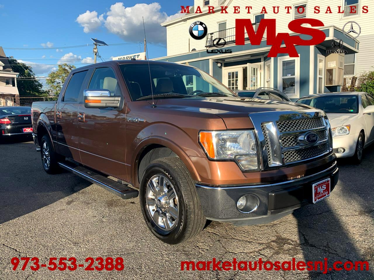 Ford F-150 Lariat Limited SuperCrew 5.5-ft. Bed 2WD 2011