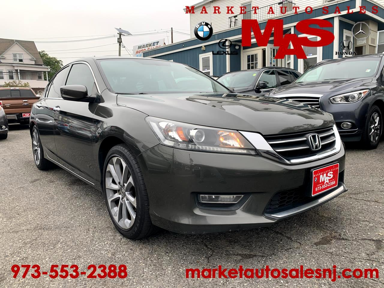 Honda Accord Sport Sedan CVT 2013