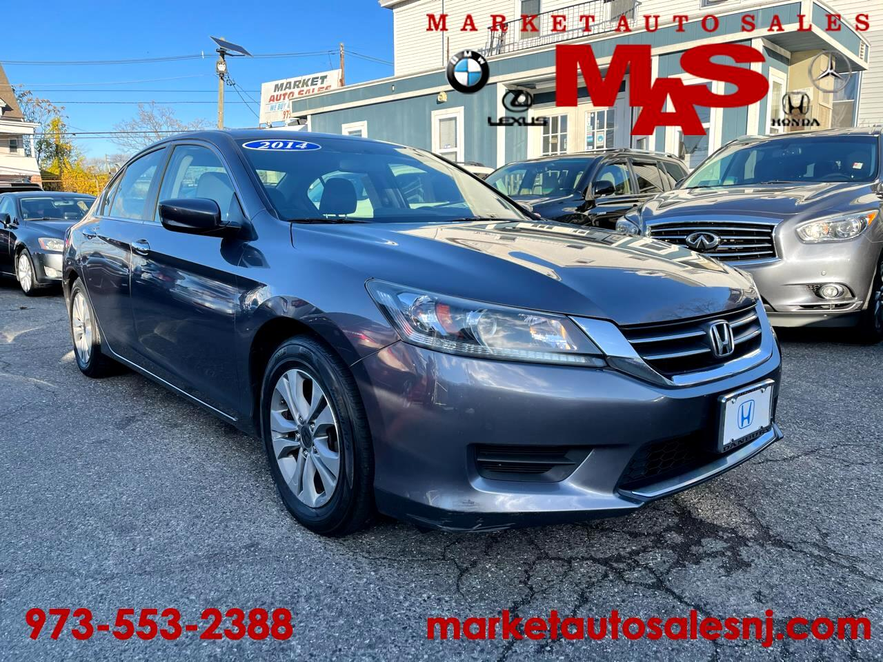 Honda Accord LX Sedan 6-Spd MT 2014