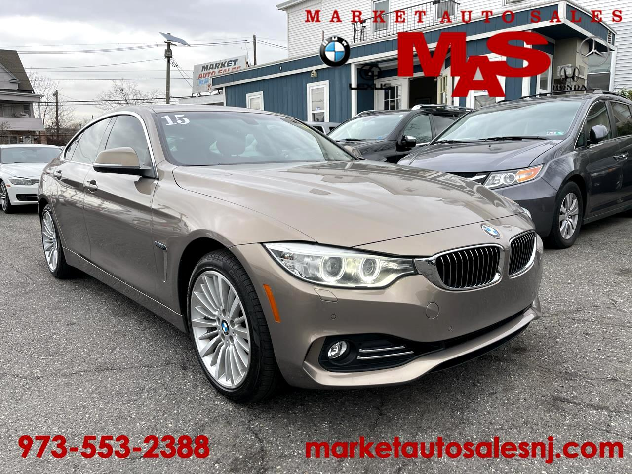 BMW 4-Series Gran Coupe 428i xDrive SULEV 2015