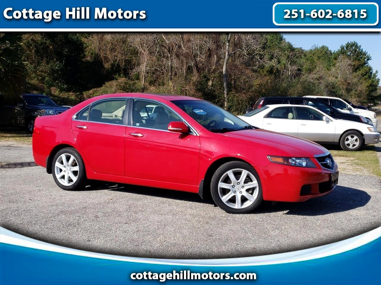 Acura TSX 5-speed AT 2005