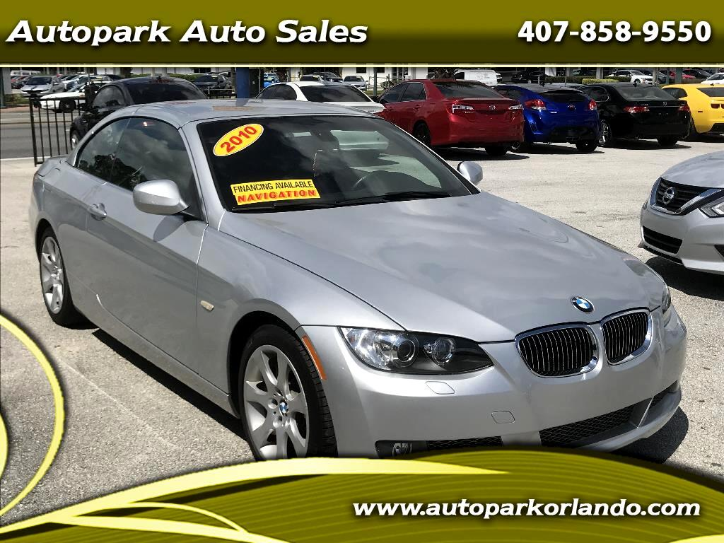 2010 BMW 3 Series 2dr Conv 335i