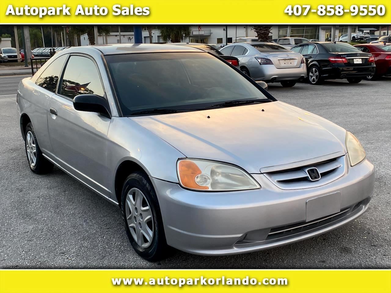 Honda Civic 2dr Cpe DX Auto w/Side Airbags 2003