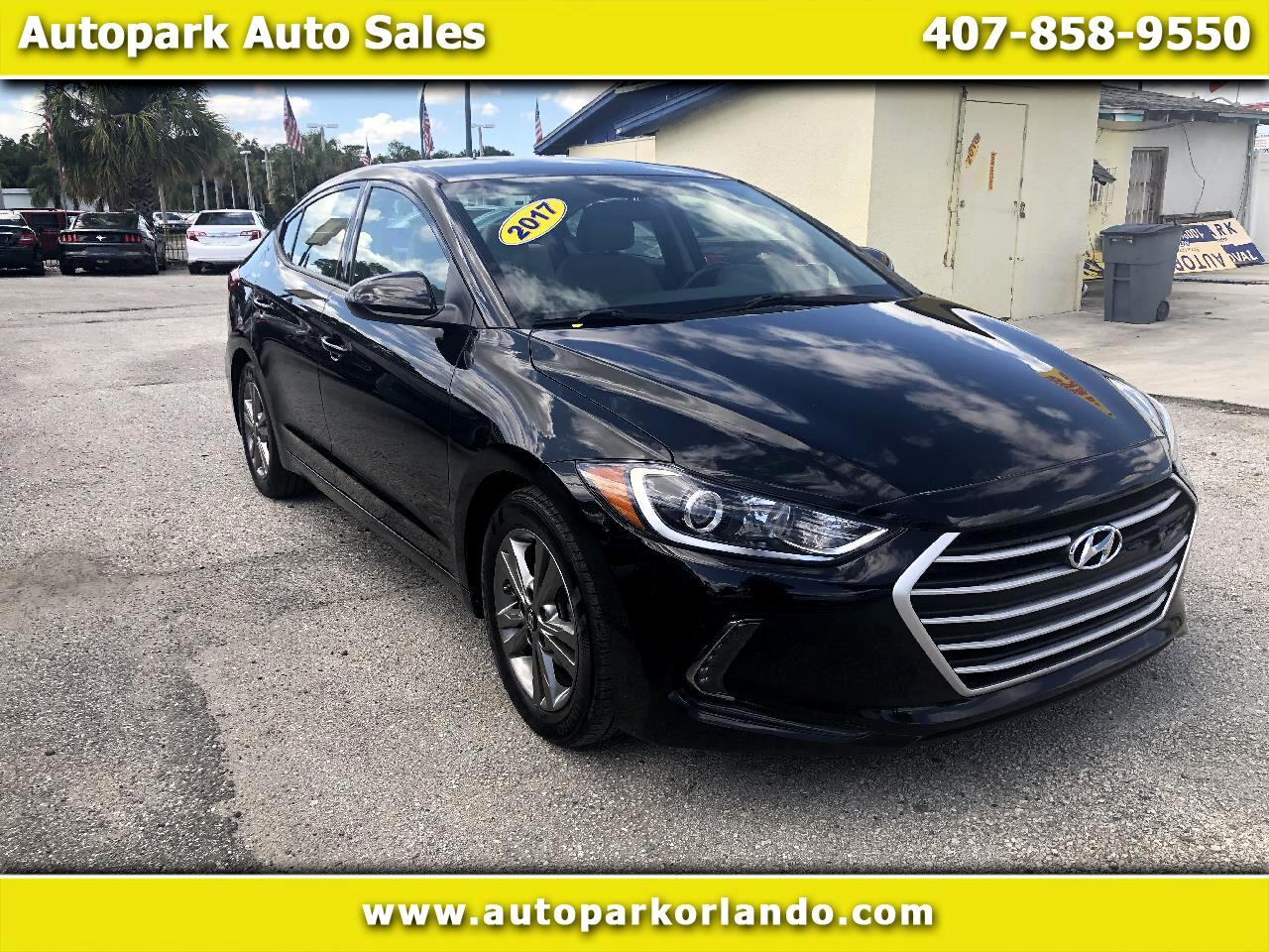 2017 Hyundai Elantra 4dr Sdn Auto Value Edition (Alabama Plant)