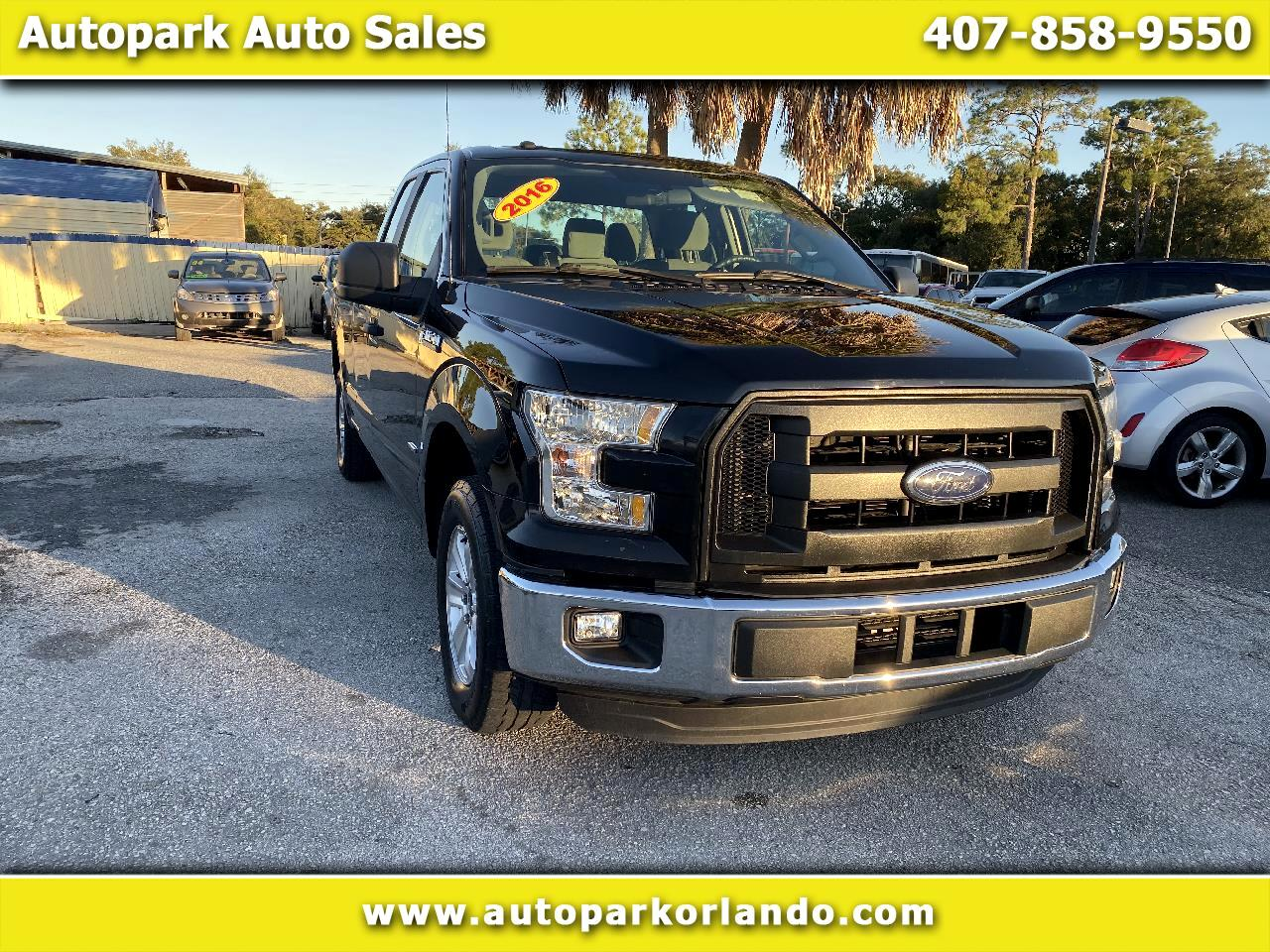 "Ford F-150 2WD SuperCab 145"" XL 2016"