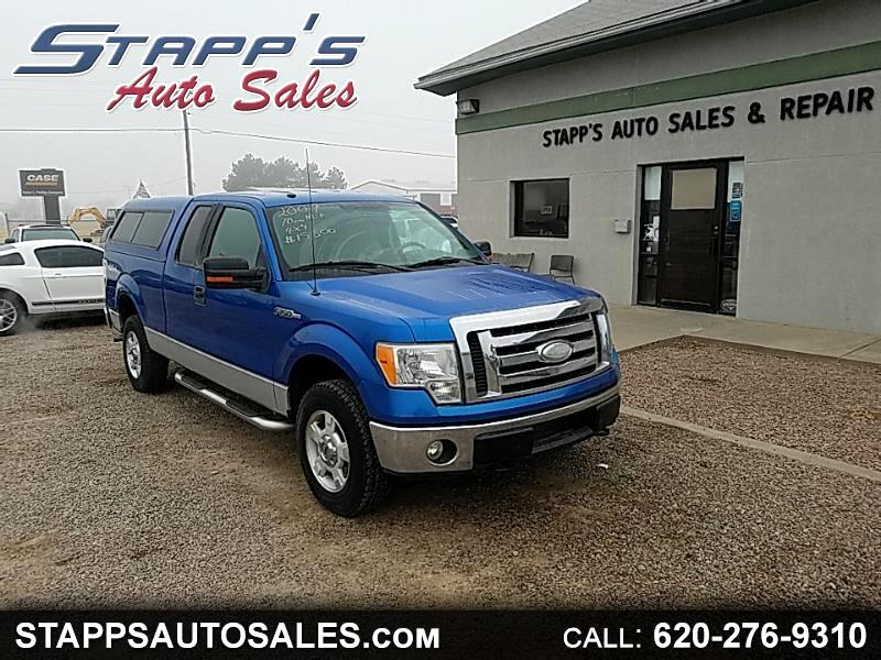 2009 Ford F-150 XLT 4WD SuperCab 6.5' Box