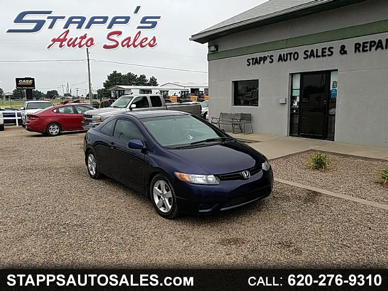 Honda Civic EX Coupe AT with Navigation 2007