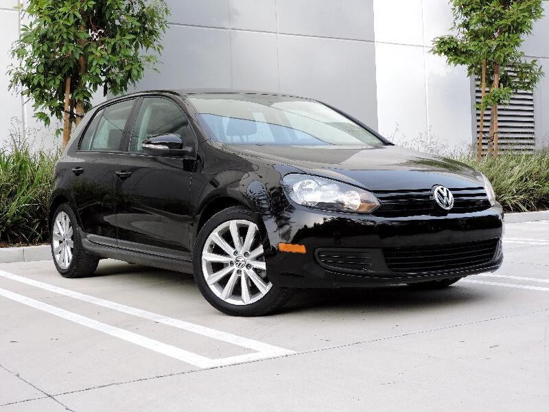 Volkswagen Golf 2.5L 4-Door PZEV 2012