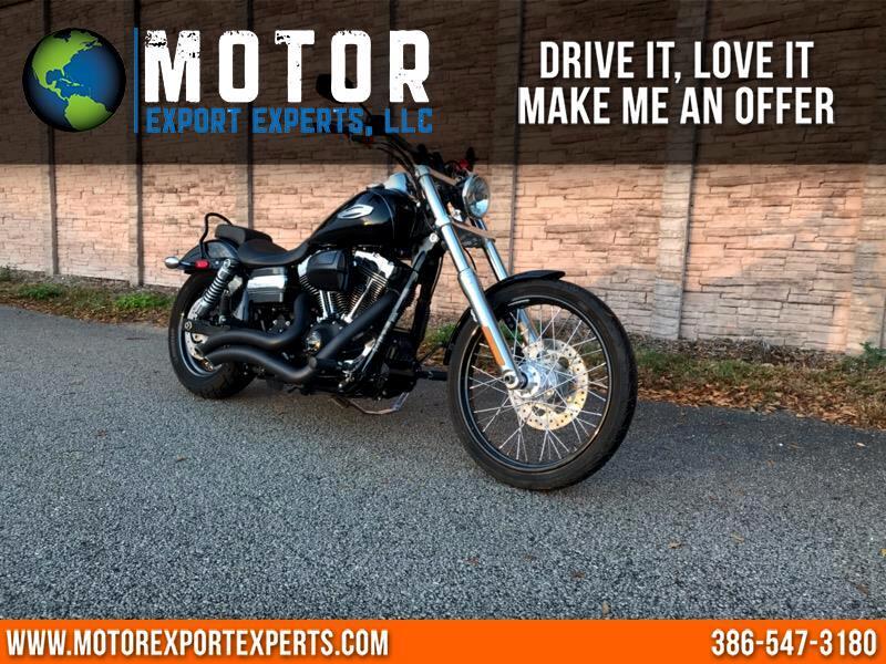 2012 Harley-Davidson FXDWG DYNA WIDE GLIDE