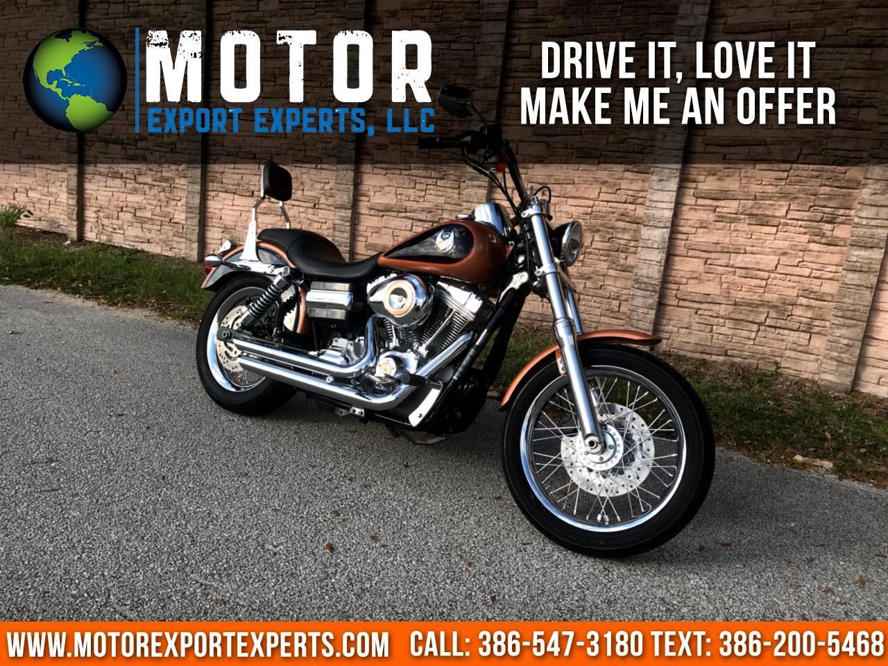2008 Harley-Davidson FXDC ANV DYNA SUPER GLIDE