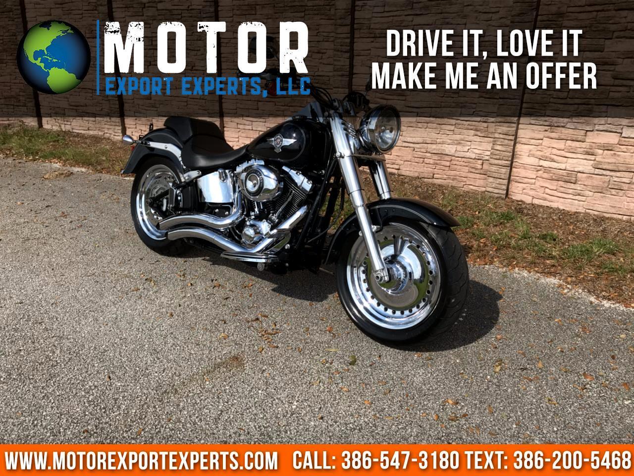 2014 Harley-Davidson FLSTFI FAT BOY