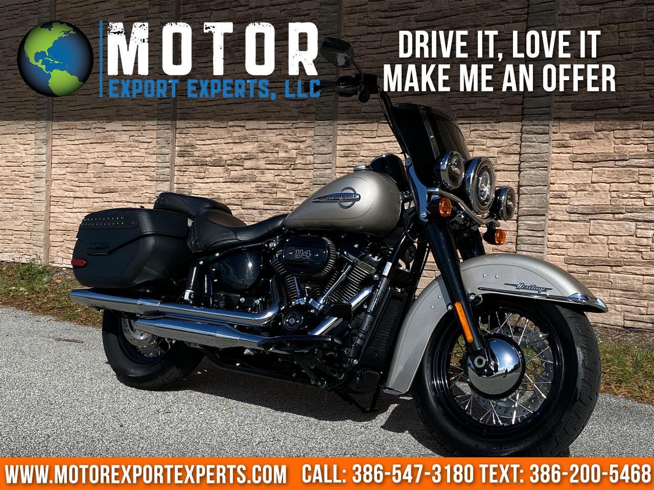 2018 Harley-Davidson FLHCS HERITAGE CLASSIC