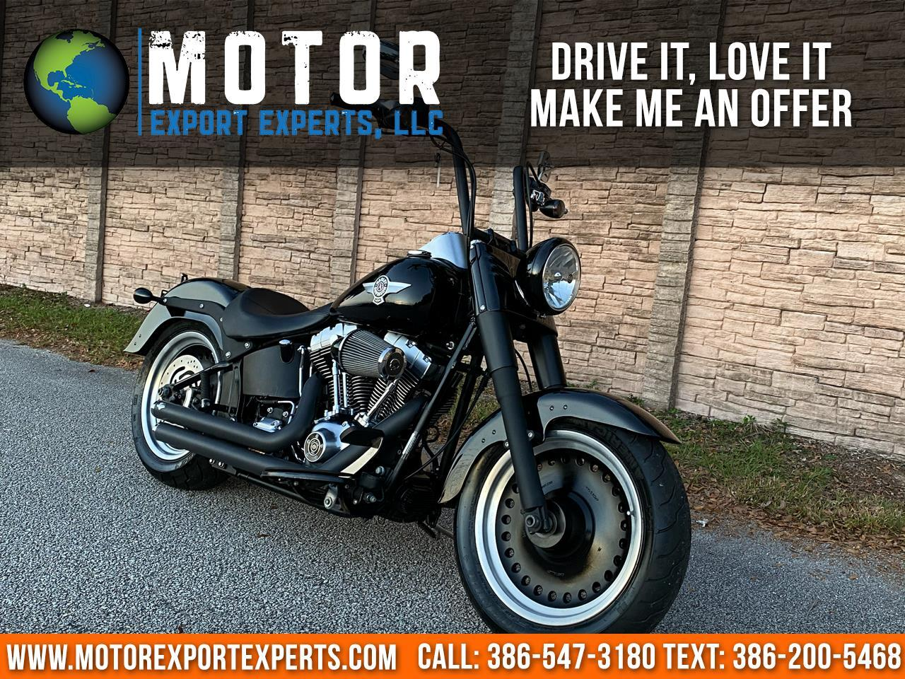 2010 Harley-Davidson FLSTFB FAT BOY LOW