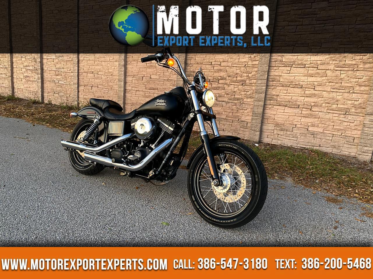 Harley-Davidson FXDB  2016