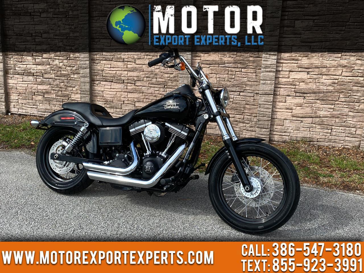 Harley-Davidson FXDB  2015