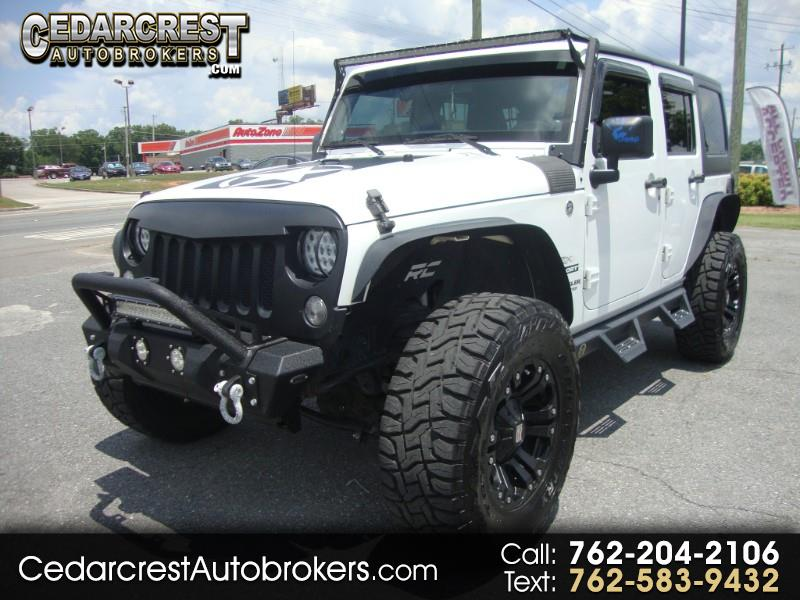 2013 Jeep Wrangler JK Unlimited Sport 4x4