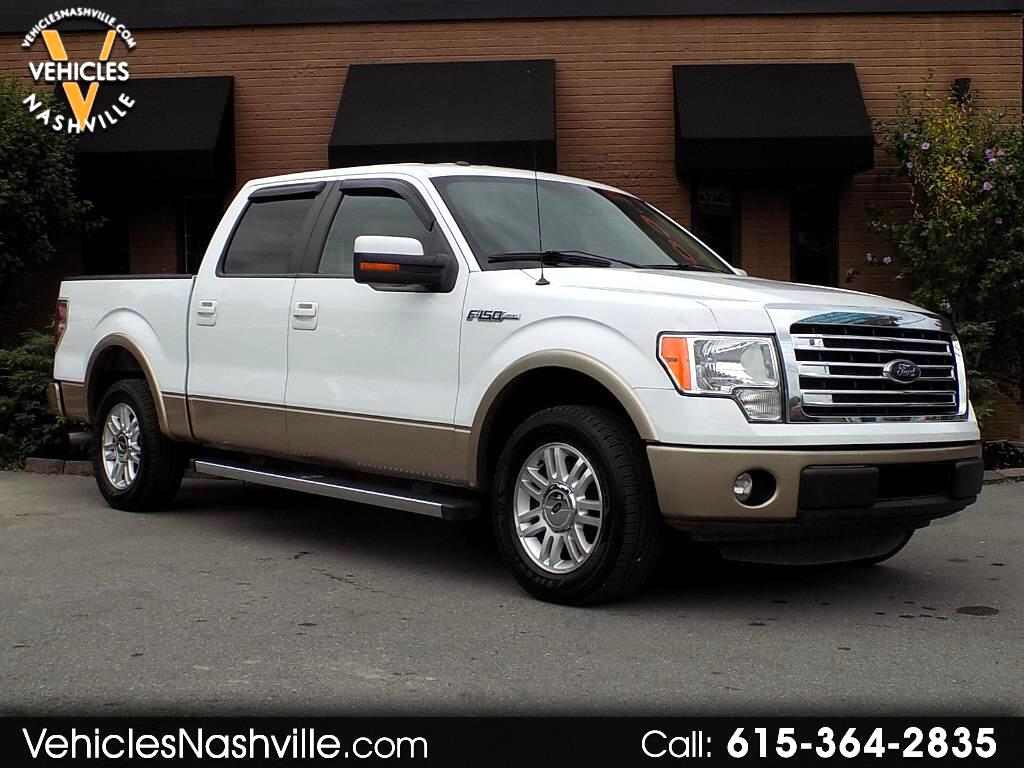 2014 Ford F-150 Lariat SuperCrew Short Box 2WD