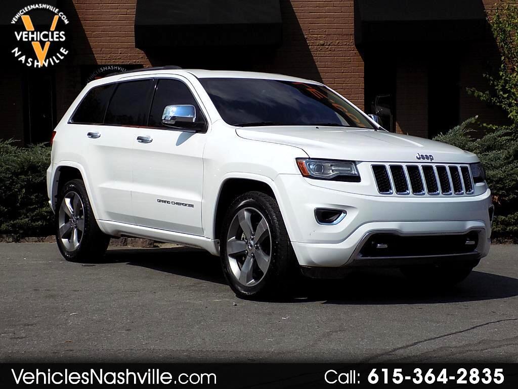 2014 Jeep Grand Cherokee Overland 2WD