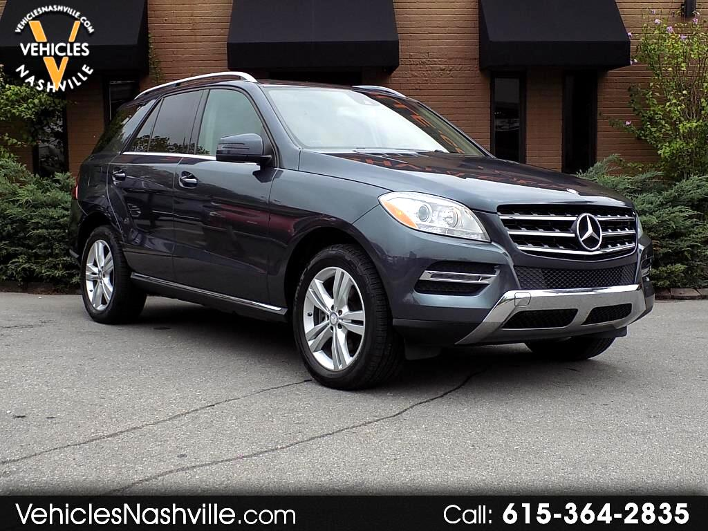 Used 2014 Mercedes Benz M Class For Sale In Nashville, TN 37210 Vehicles  Nashville