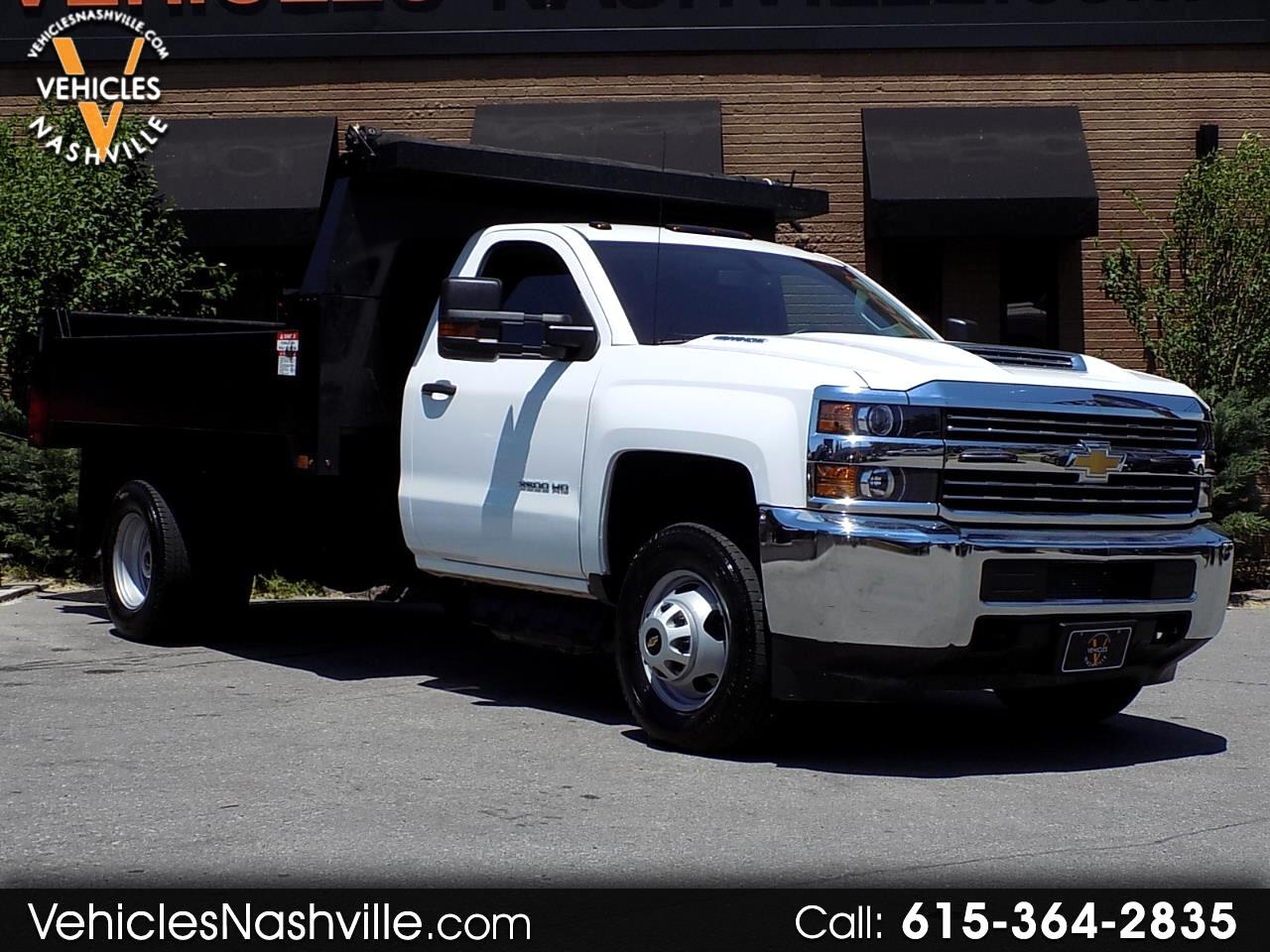 2017 Chevrolet Silverado 3500HD Dump Bed DRW 2WD